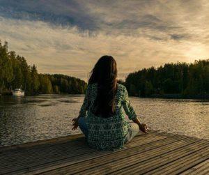 瞑想でストレスを解消