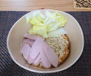 チキンラーメン筋肉レシピ4