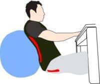 体圧分散で腰痛対策