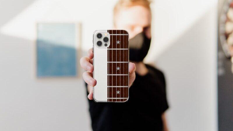 ギターの運指練習が出来る?iPhoneケース!ギター好きにオススメ!