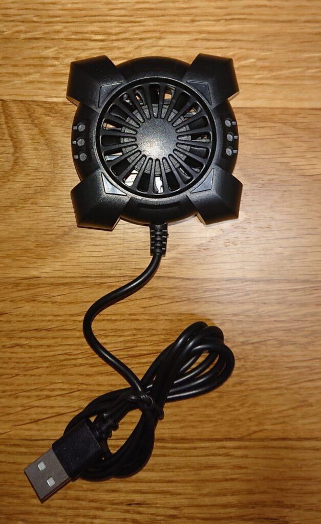 ダイソースマホ冷却扇風機の使用レビュー